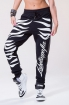 Zebra Black Pants