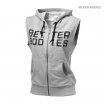 Athletic SL Hood, Grey Melange