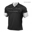 Collar Tee, Wash Black