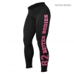 Varsity Tights, Black Pink