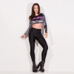 Disco Pants Total Black Legging