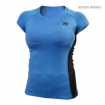 Performance soft tee, Blue